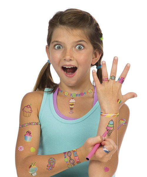 Take a look at the ALEX Sweet & Sparkle Tattoos Set on #zulily today!