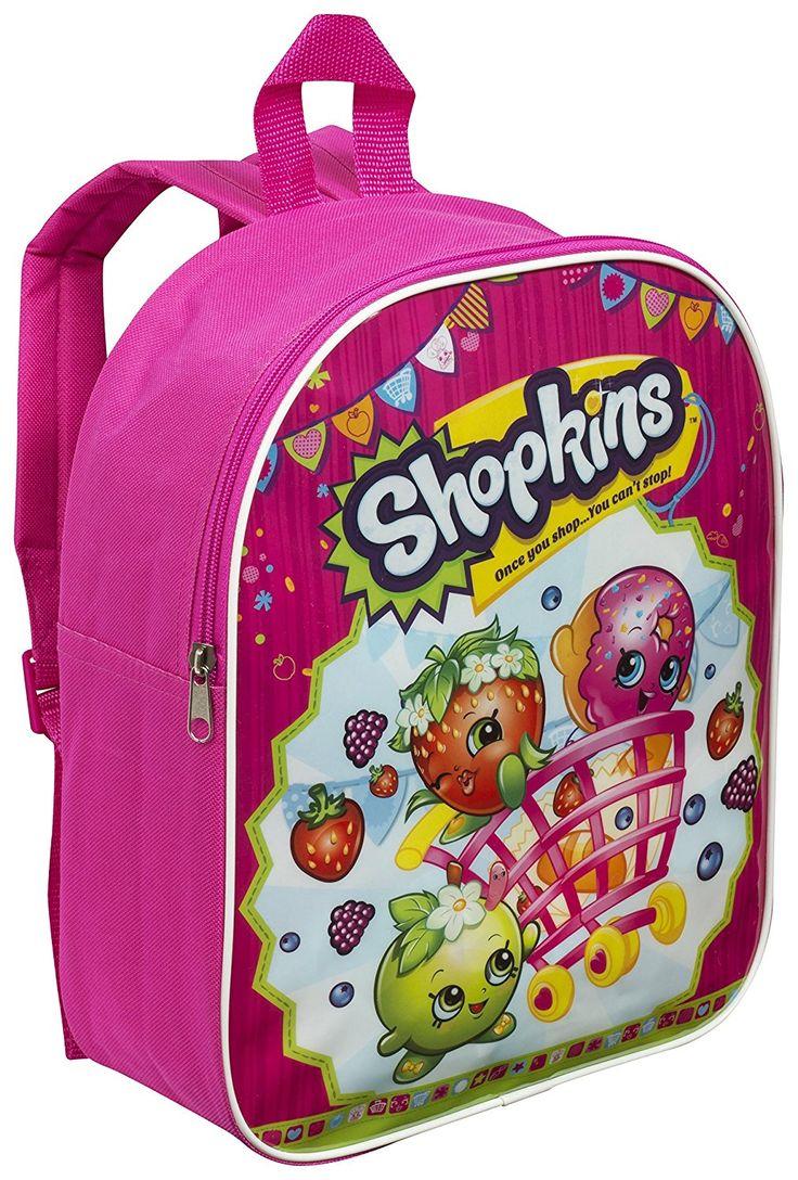 Shopkins Girl's Junior Backpack - http://amzn.to/2siENU8