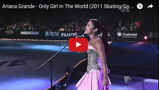 Watch: Ariana Grande - Only Girl In The World (2011 Skating/Gymnastics Spectacular) See lyrics here: http://arianagrande-lyrics.blogspot.com/2016/11/only-girl-in-world-lyrics-ariana-grande.html #lyricsdome
