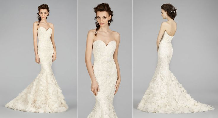 17 best images about fall 2014 on pinterest neckline for How much is a lazaro wedding dress
