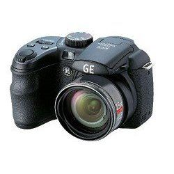 "GE X500 Power Pro Series Bridge Camera with Electronic View Finder, Optical Image Stabilization, 16MP, 15X Optical Zoom, 2.7""LCD, 27mm Wide Angle Lens and advanced features including Shutter & Aperture Priority mode, Program mode, ASCN, Pan-Capture Panorama, Smile & Blink Detection, Face Detection, Face Auto Exposure, Red-Eye Removal, High Dynamic Range. Power by AA Battery.What's in the box: Gene"