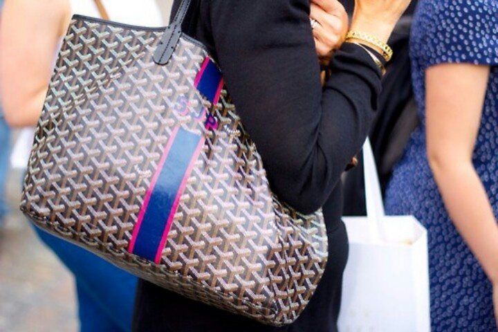 Goyard bag - Monogram and personalization is a must!