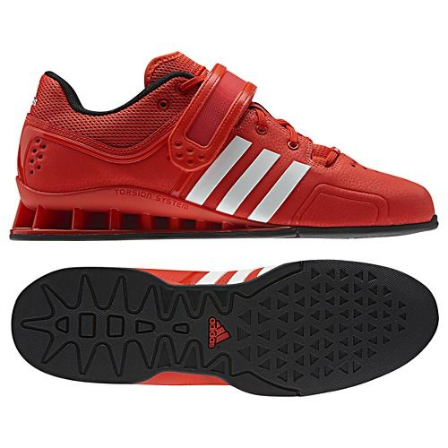 *** adidas Adipower Weightlifting Shoes. I may need to invest in a pair soon since my Inov8s are light but not a lot of support in the heel ***