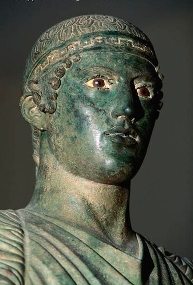 Charioteer of Delphi. Seen this. Visiting Delphi was a beautiful and spiritual experience