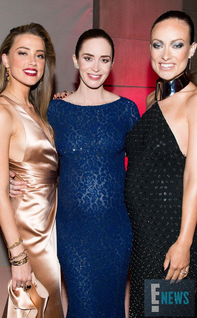 Amber Heard, Emily Blunt & Olivia Wilde from Met Gala 2016: Inside the Exclusive Event | E! Online