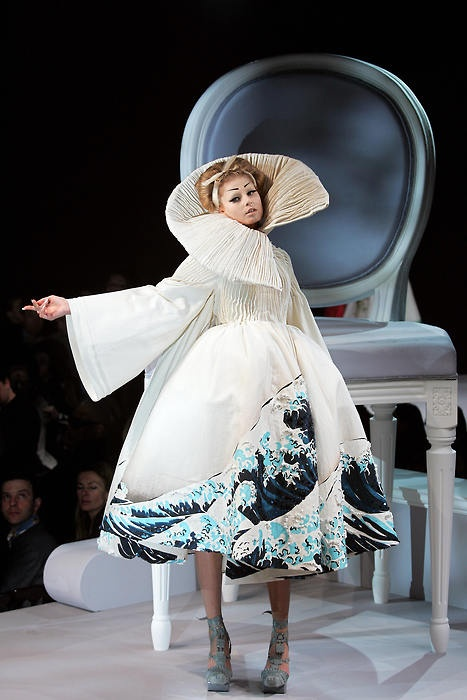 Christian Dior Haute Couture ... Look at that neck design!!!