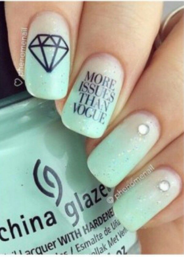 105 best nails images on Pinterest | Uñas bonitas, Diseño de uñas y ...