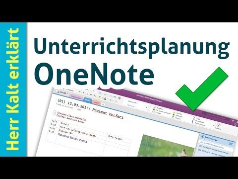 Digital Lesson Planning with OneNote (Tips for Beginners) – YouTube
