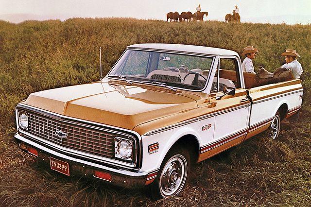 1971 Chevrolet Cheyenne Pickup Truck