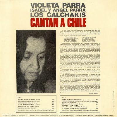 Violeta Parra - los Calchakis