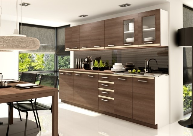 10 best images about brown kitchen cabinets on pinterest for Kitchen cabinets kijiji