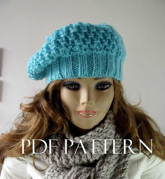 KNITTING HAT PATTERN French Lola Boina Hat by LiliaCraftParty