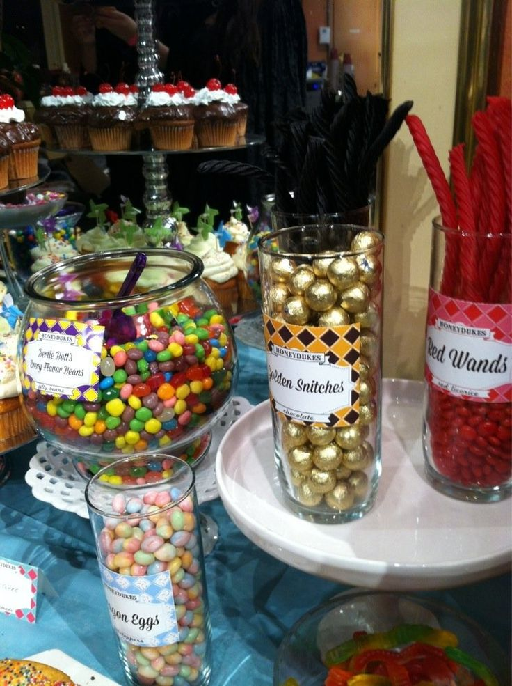 Mojo Spa - Chicago, IL, United States. More Honeydukes candy bar for the Harry Potter event