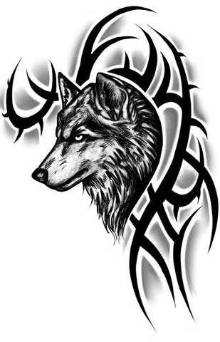 Tribal Wolf Tattoos – Designs