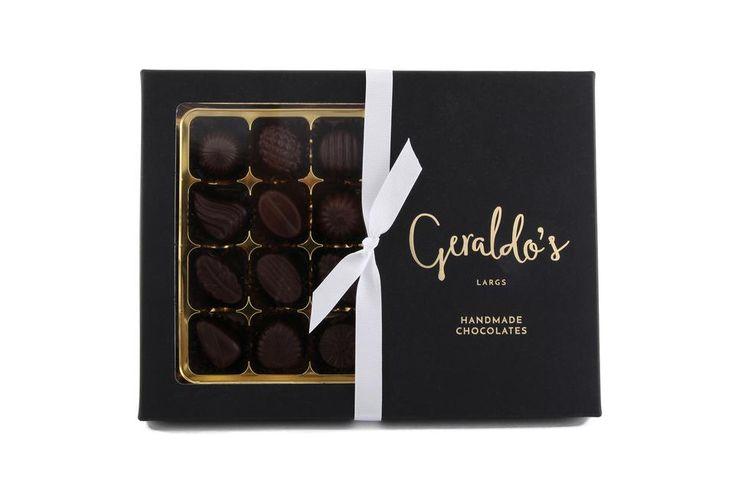 Chocolate Deluxe Gift Box of Parisian Creams