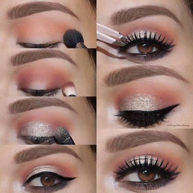 7 Tutos make-up pour sublimer des yeux marrons
