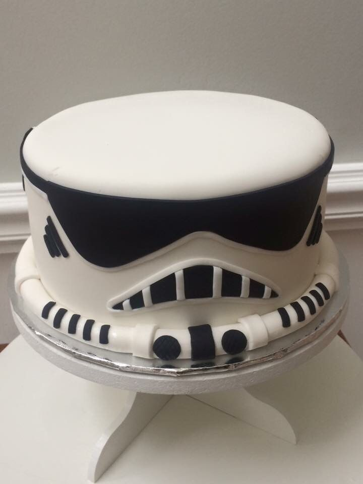 Fondant storm trooper cake by Cake Grooves