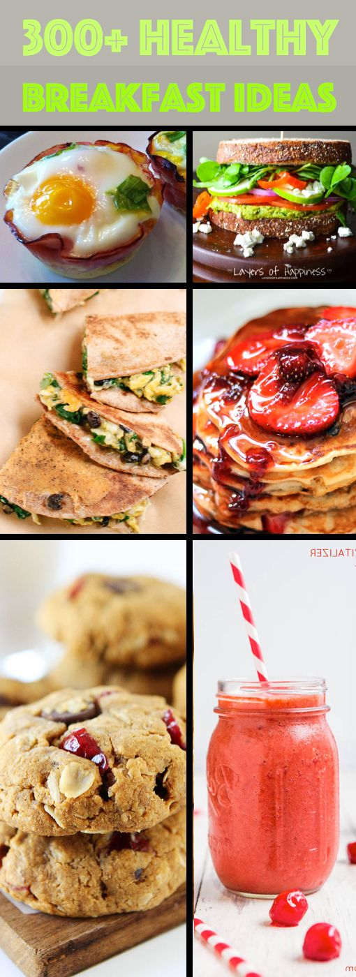 300+ Healthy Breakfast Ideas That Will Boost Your Energy  #breakfast #healthy #recipes