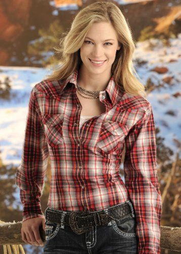 139 best goal wardrobe images on pinterest cowgirl tuff for Country girl flannel shirts