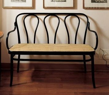 Thonet bench from Remodelista