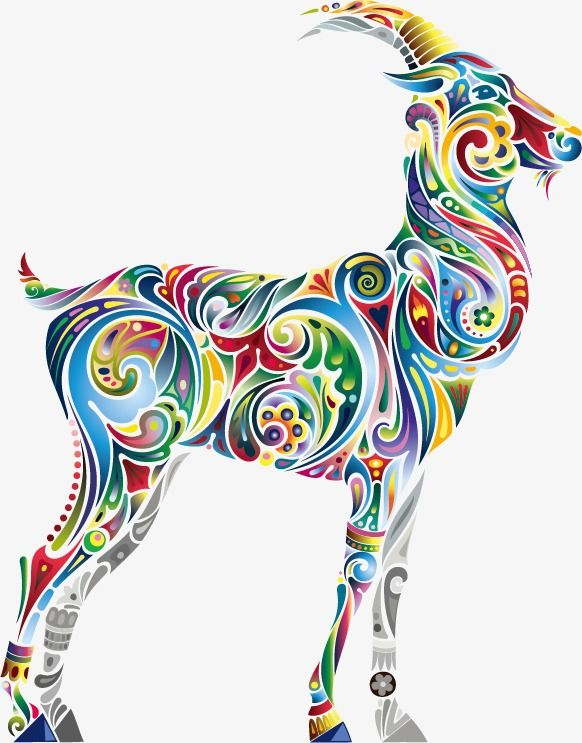 Yule Goat Coloring Page