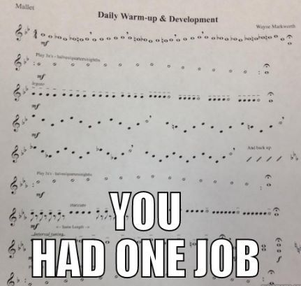 What the actual heck composers....