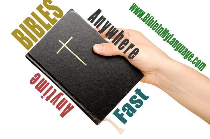 Bibles for everyone!  www.bibleinmylanguage.com