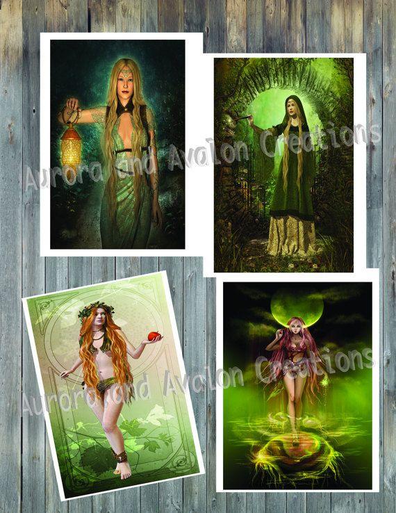 Pagan Art individual sheets