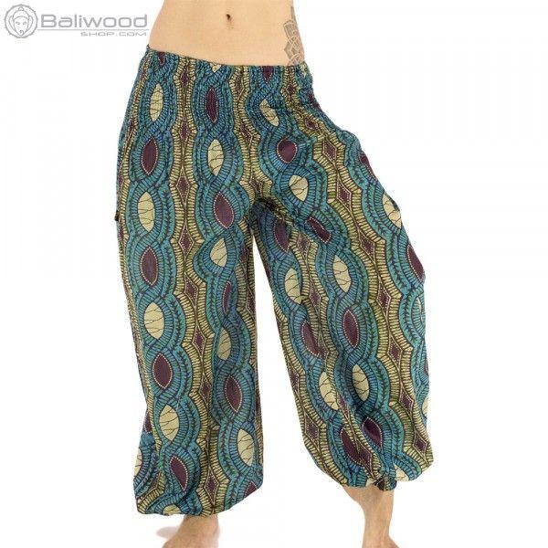 Pantalon ethnique bouffant, élastiqué aux chevilles en coton léger, tissus aux motifs Africains.Taille élastique de 65 à 110 centimètres.Très agréable à porter pour les festivals d'été. baba cool, vêtement large, ample, hippie, teuf, rave, festival, trance, burning man, festival de musique, jongleur, costume, vêtement unisexe, pantalon flottant, pantalon très large, magrheb, pantalon bouffant, entrejambe bas, pantalon en toile, afrique du nord, couleur, costume souple, bleu