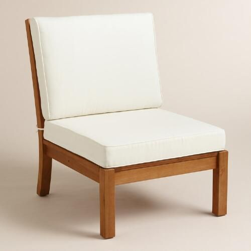 One Of My Favorite Discoveries At WorldMarket.com: Wood Cayman Armless  Sectional Chair