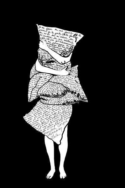 Les Dessins Du Dimanche, 2013. Projet collaboratif, dessins numérique ou broderies. Les DDD, Poème de Ghérasim Lucas.