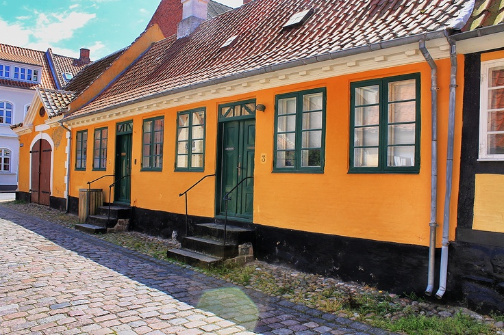 Colorful Rudkøbing