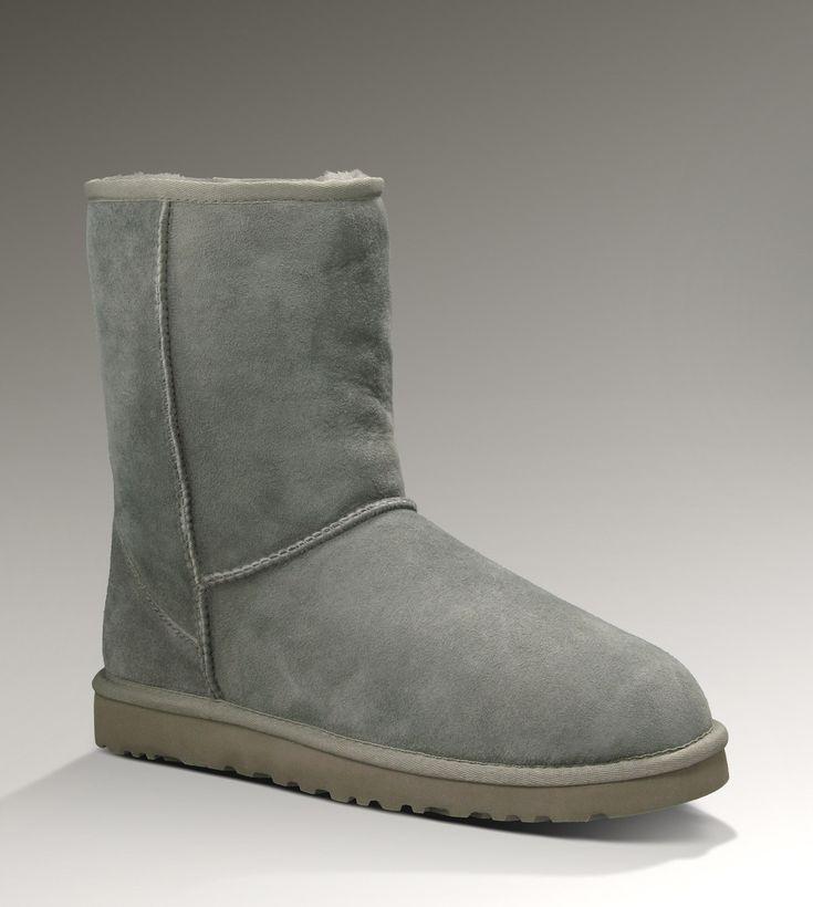 Ugg Classic Short 5800 Grey Boots