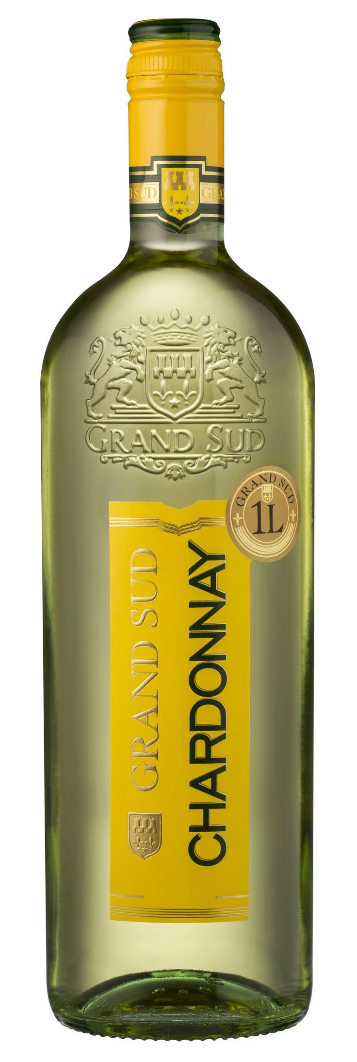 Agréable à l'apéritif, ce #vin accompagne à merveille les poissons, les volailles et les fromages. #Chardonnay #GrandSud #2013