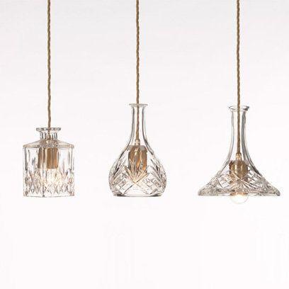 Lee Broom - Decanter lights