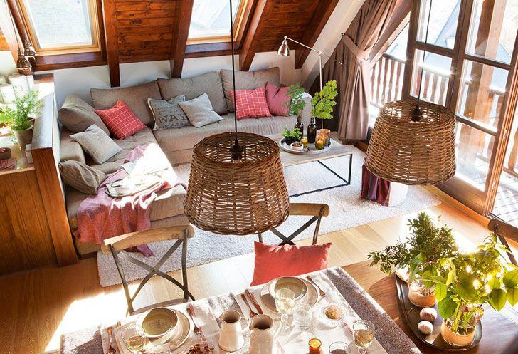 Уютная квартира с шоколадными интерьерами в Испании