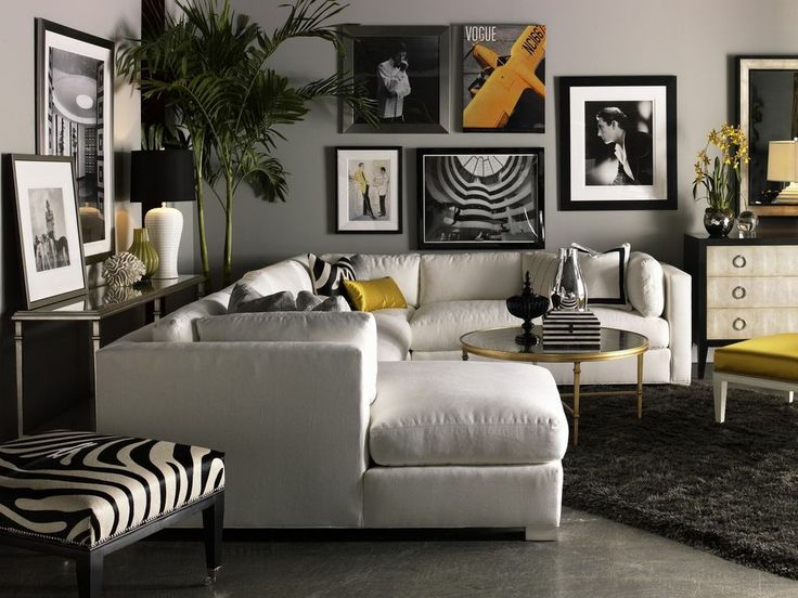 Nice Lillian August Fine Furniture     Sectional Sofas   Chicago   By Front Roe  Fashion