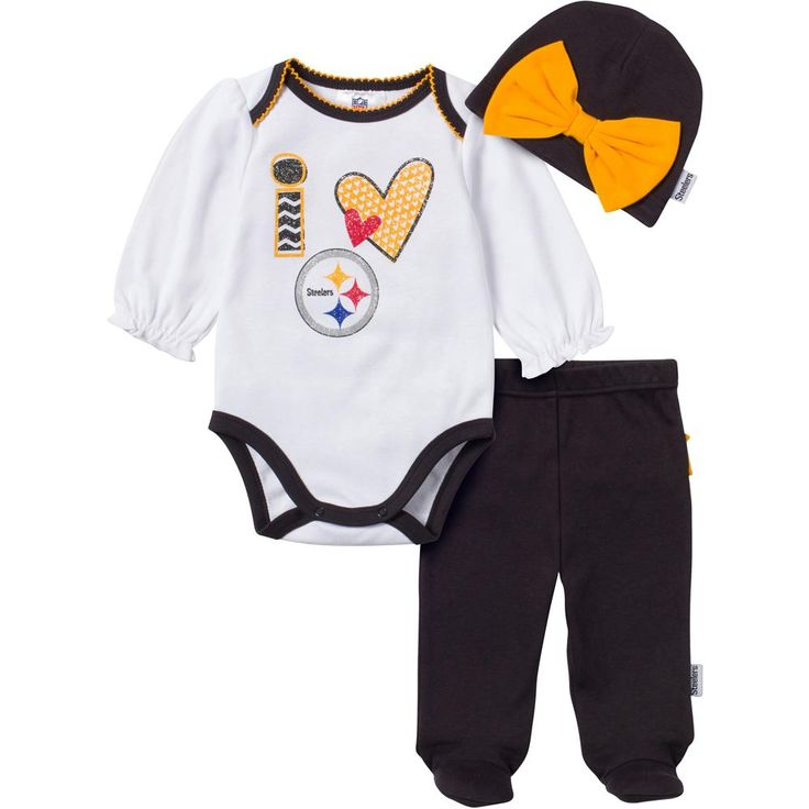 Steelers Baby Clothes Fascinating 26 Best Pittsburgh Steelers Baby Images On Pinterest  Pittsburgh Decorating Design