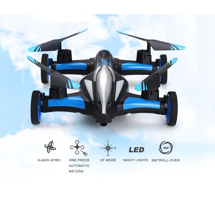 JJRC H23 <b>RC</b> Helicopter <b>2.4G RC</b> Quadcopter <b>Car</b> Land Sky 2 in 1 ...