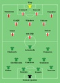AFC AJAX V Panathinaikos FC - Line Up