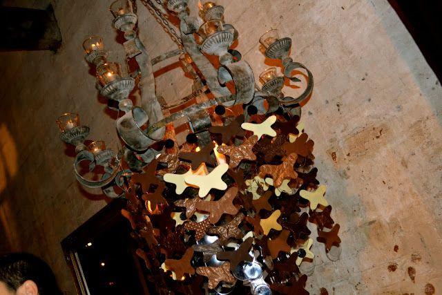 sisko chocolate chandellier at Jason Grech