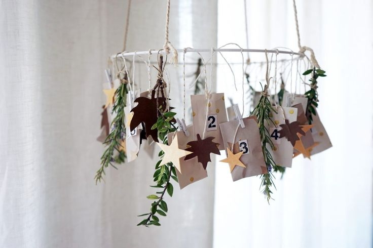 DIY : Mon calendrier de l'avent d'inspiration kinfolk christmas decor