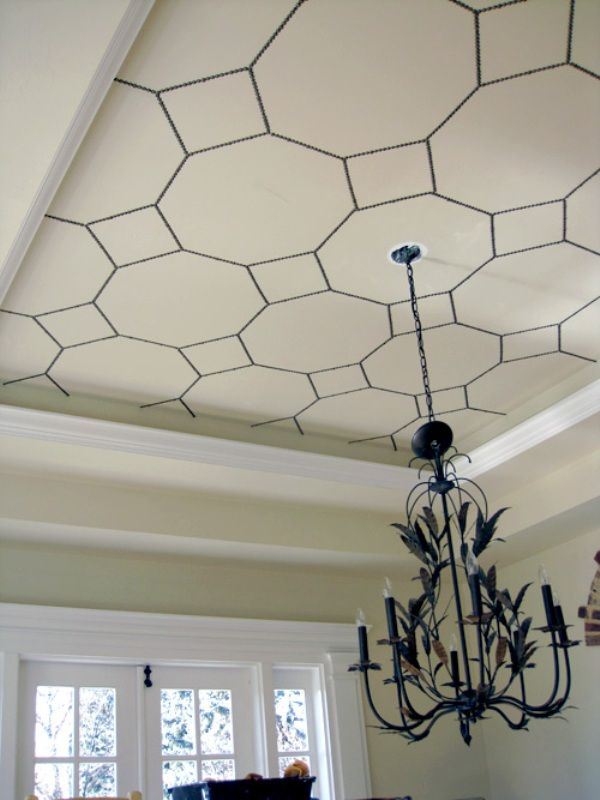 DIY Painted Ceilings