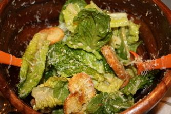 Have you ever wondered who the Ceasar Salad is named after?  My teenage daughter did, so we looked it up and found the original recipe... going to have to try it sometime!