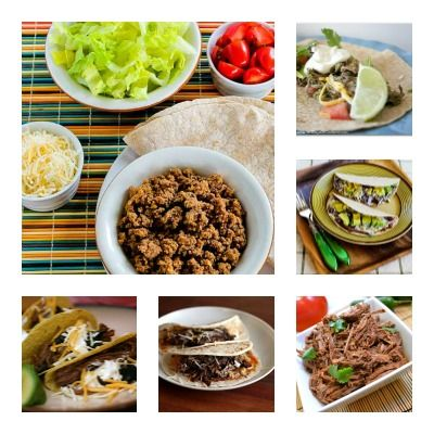Slow Cooker Beef Tacos (20 recipes)