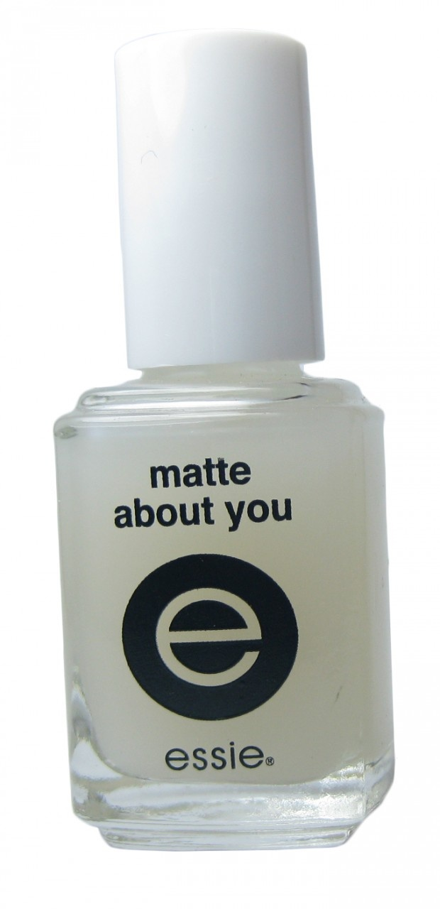 Essie Matte About You...bought this the other day and love how it works.  perfect look for the darker hues of fall!