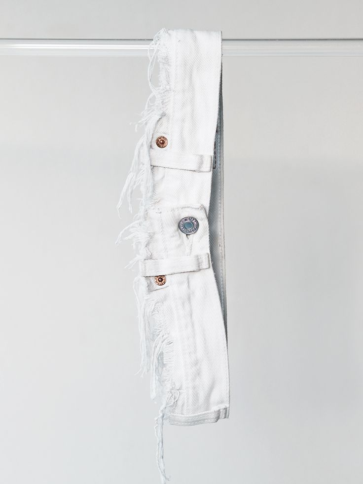 DIY cut jeans belt / Love Aesthetics