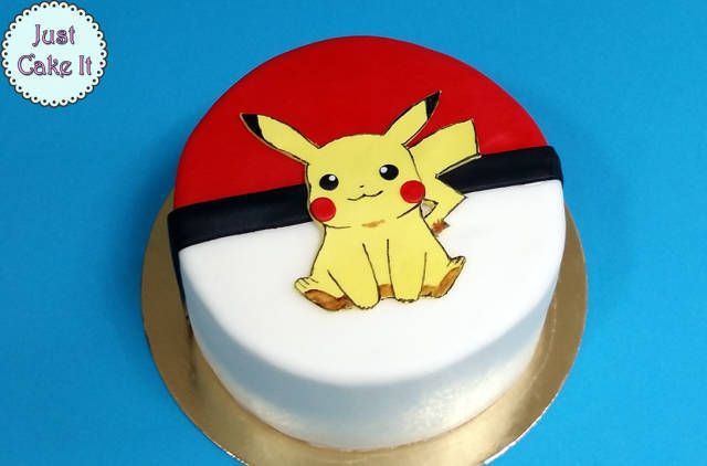 Pokemon Pikachu cake tutorial - CakesDecor