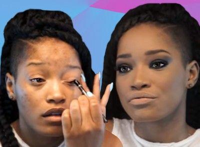 keke palmer smokey eye beauty tutorial essencecom
