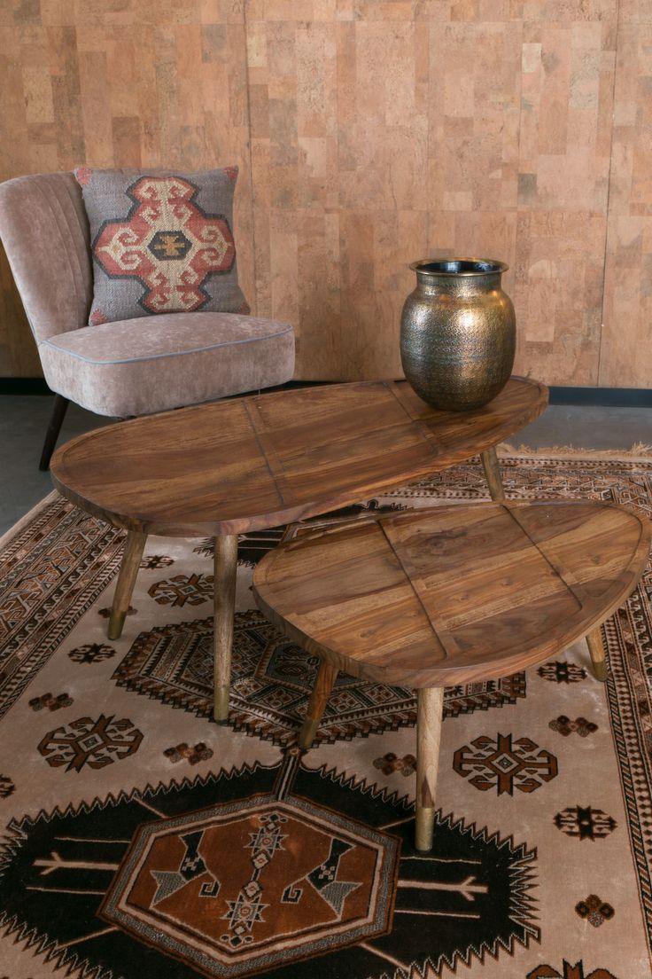 Sham coffee table setting